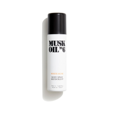 Musk Oil No. 6 Deo Spray - White